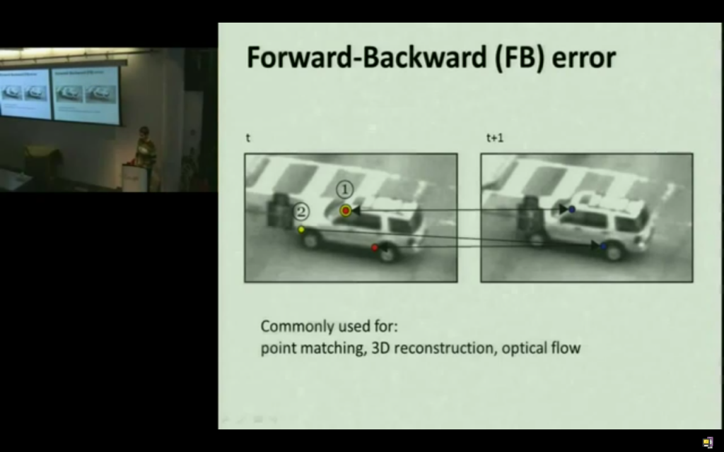 Forward-Backward Error